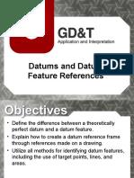 GD&T Dimensional Datum