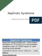 Nephrotic Syndrome 2016