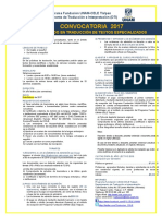 Convocatoria Dtte 2017-Vinculo Registro