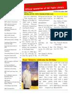 Quezonian Newsletter December 2009