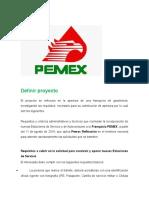 Proyecto de Pemex