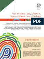 No discriminación laboral por orientación sexual y/o identidad de género