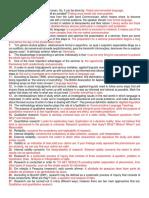 Resumo de Questões - Seminários em Língua Inglesa - Estudos Linguísticos