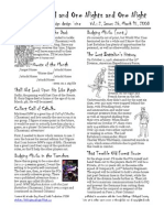 Issue #26, One Thousand and One Nights and One Night RPG Campaign Design 'zine