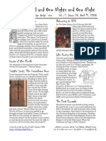 Issue #28, One Thousand and One Nights and One Night RPG Campaign Design 'zine