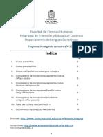 Folleto Informativo 2016 - Segundo Semestre