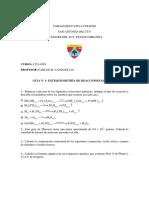 Guia estequiometria n° 1