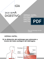 Patología del sistema digestivo