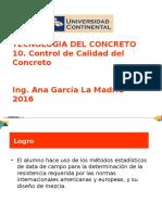 10. Control de Calidad Del Concreto