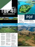 NZ Top 40 Australian Golf Digest - July 16