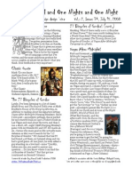 Issue #34, One Thousand and One Nights and One Night RPG Campaign Design 'zine