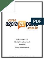 PDF AEP PCCE DireitoConstitucional Parte06 EmillyAlbuquerque