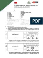 Plan de Nivelación y Reforzamiento de Matemática 3er g.