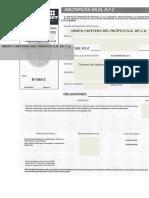 Formato RFC (Vacío)
