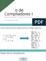 Compiladores Generación de Código