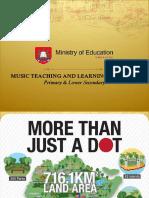 General Music Education Curriculum of Singapore