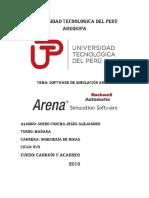 Software Arena Cargui y Acarreo