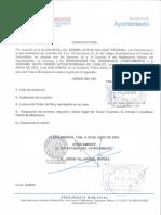 Viguésimo Sexta Sesión Extraordinaria del Honorable Cabildo del R. Ayuntamiento 16-07-01