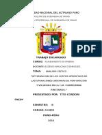 Proyectos Inversion Minera Resumen Tito Condori Fredy