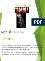 Botnets y Redes Zombies
