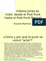 Indie, Ricardo Martínez