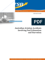 Aviation Accidents Involving Fuel Exhaustion and Starvation 1981-2000 Issued in 2002
