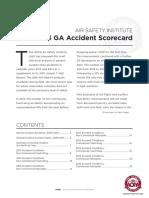 GA事故AOPA文件 2013 2014 Scorecard V4