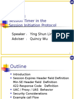 Rfc4028 Session Timer