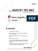 Ensayo1 Simce Historia 6basico 2014