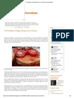 Origen Pan Con Tomate