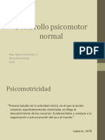 Desarrollo Psicomotor Normal