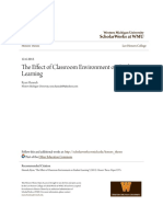The Effect of Classroom Environment on Student Learning