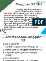 Format Laporan OJT