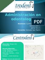 Administración en Odontología