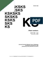 Plain Washers 7 KSB1326