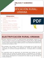 Electrificación Urbana y Rural
