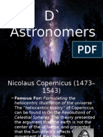 D` Astronomers
