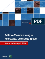 Additive Manufacturing in Aerospace, Defence & Space - Trends and Analysis 2016