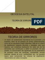 Teoria de Errores - Geodesia