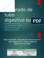Hemorragia De Tubo Digestivo Bajo