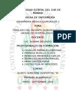 Traslado Del Pacente_expo