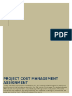 Project Cost Management Assignment
