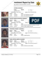 Peoria County Jail Booking Sheet