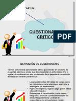 Cuestionario Critico
