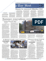 The Daily Tar Heel for June 30, 2016