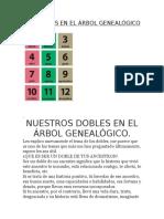 Los Dobles en El Afbol Genealogico