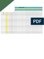 Plantilla de Excel Para Cronograma de Actividades Film