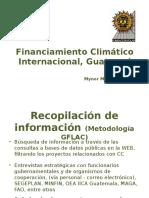 Financiamiento Climatico Internacional