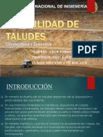 Estabilidad de Taludes,2016 Geomecanica y Economia