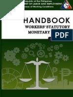 2014 Handbook on Workers Statutory and Monetary Benefits